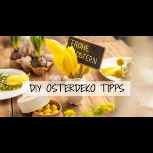 DIY Osterdeko Tipps