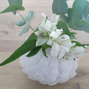 Artischocken Vase