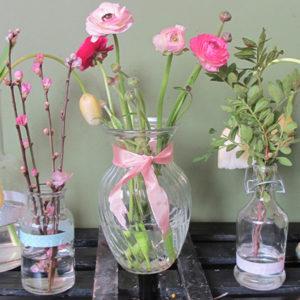 Ideen zum Vasen verschönern