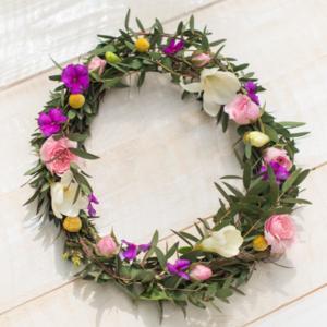 Blumen-Haarkranz von Bloomy Days