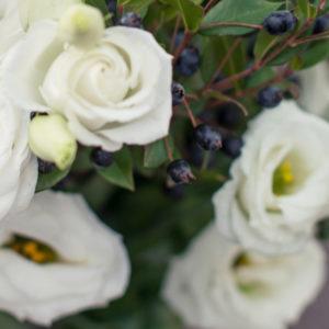 Winter Wonderland: Japanrose und Myrte