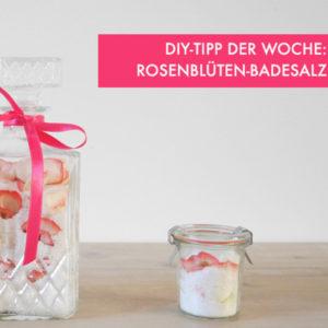 Rosenblüten Badesalz