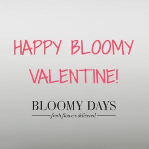 Bloomy Valentinstag