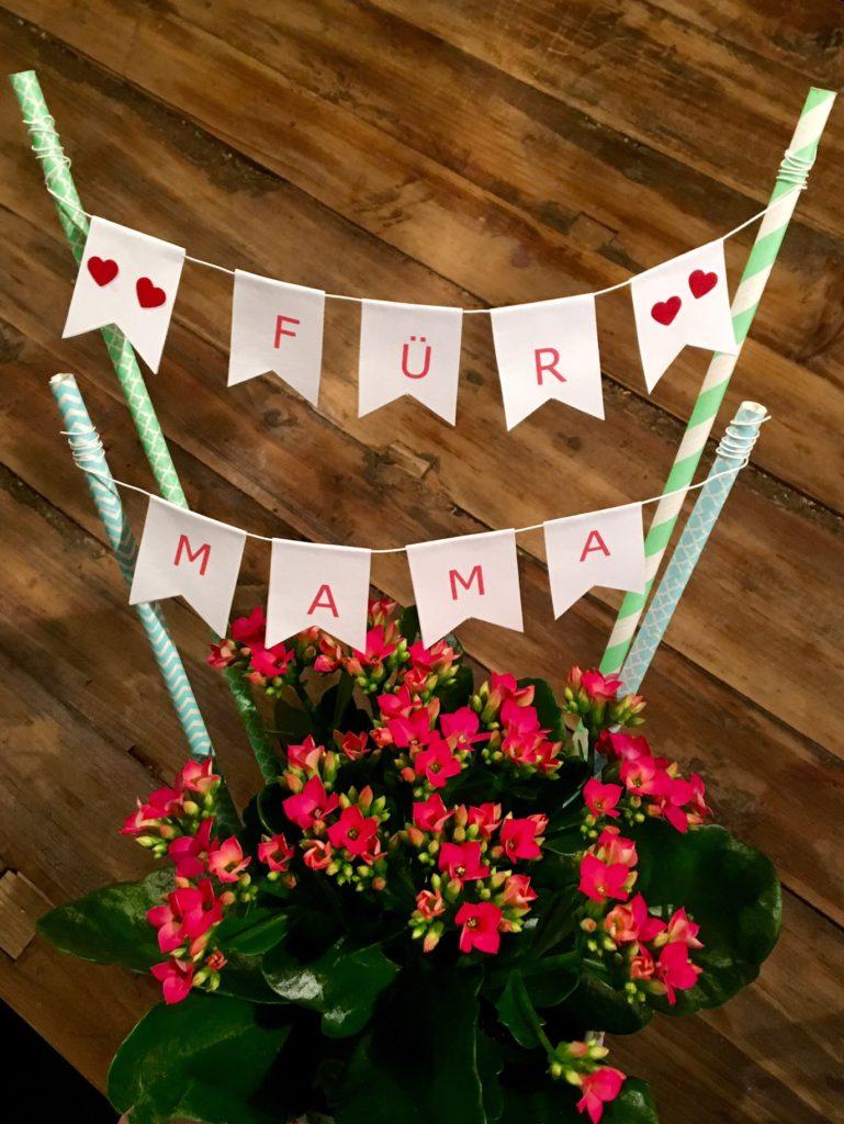 """DIY-Muttertagsgeschenk """"Für Mama"""""""