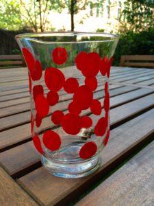 DIY-Vase fertig