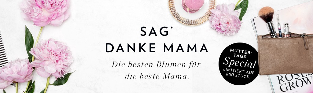 Muttertag Bloomy Days Danke Mama