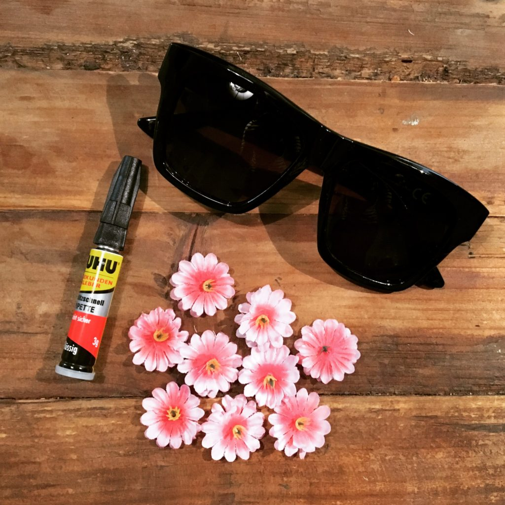 Material DIY-Sonnenbrille