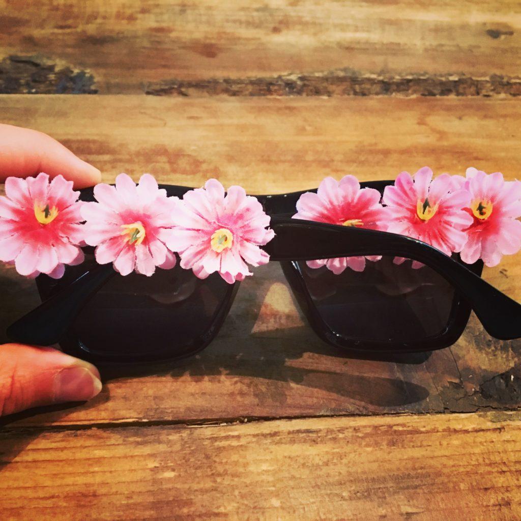 DIY-Sonnebrille mit fertigen Bügeln