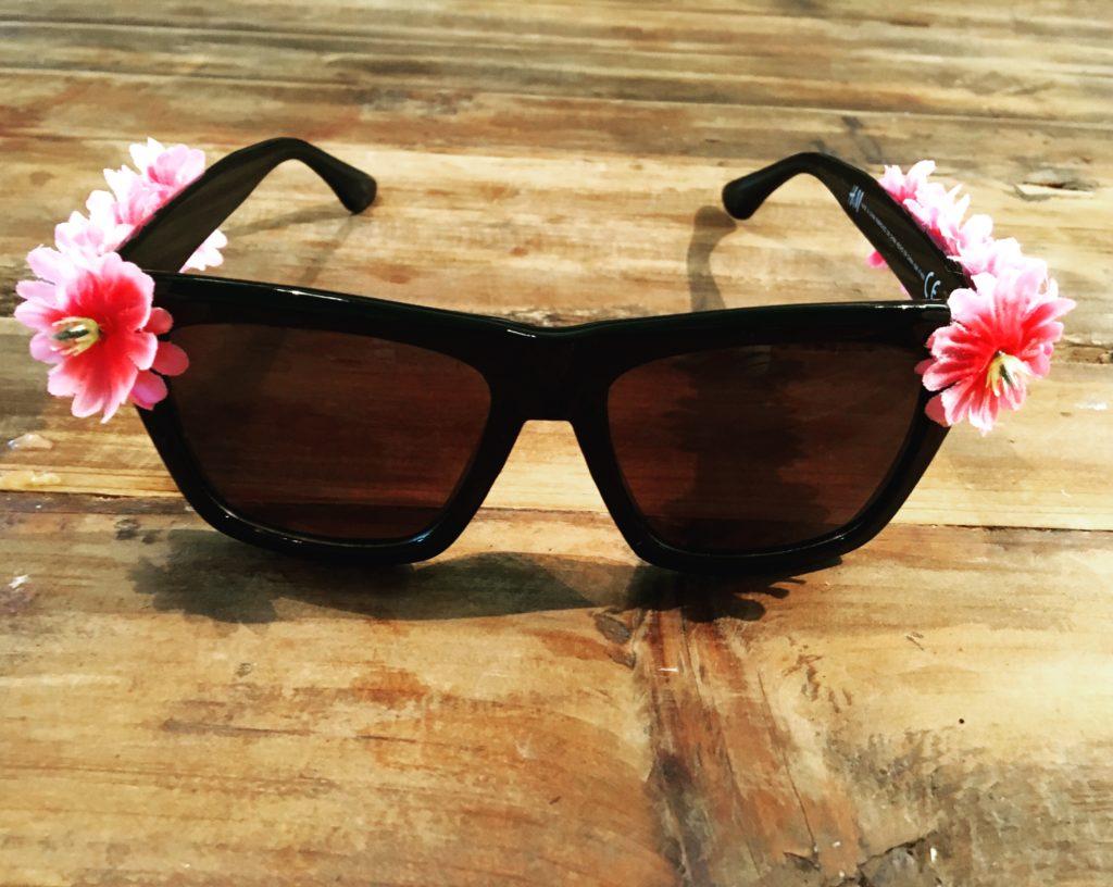 DIY-Sonnenbrille fertig von vorn