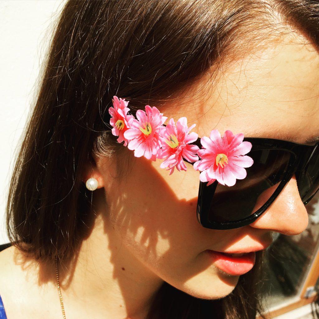 DIY-Sonnenbrille mit Adina