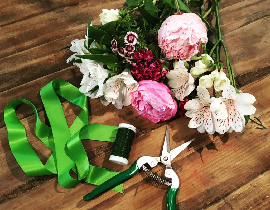 DIY-Blumenband Material
