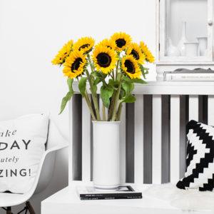 Eindrucksvolle Sonnenblumen