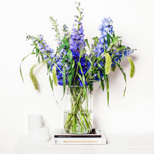 Sommerbouquets: Blue Fountain
