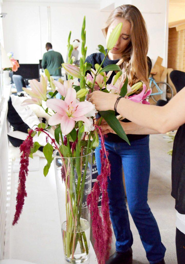 Blumen der Woche Shooting