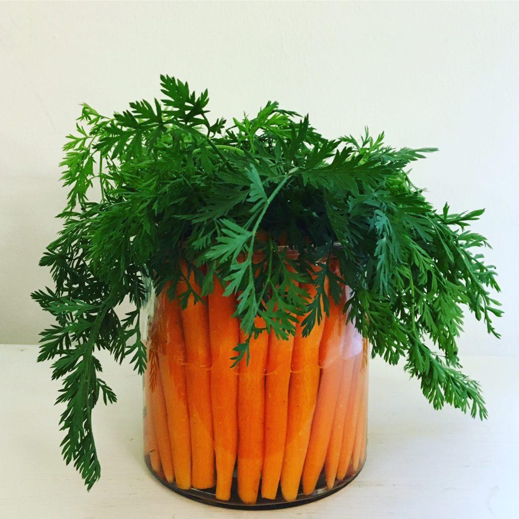 DIY-Karottenvase