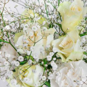 Rosen, Nelken und Eustoma