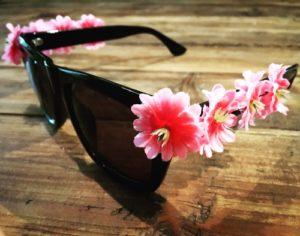 DIY-Flower-Sonnenbrille