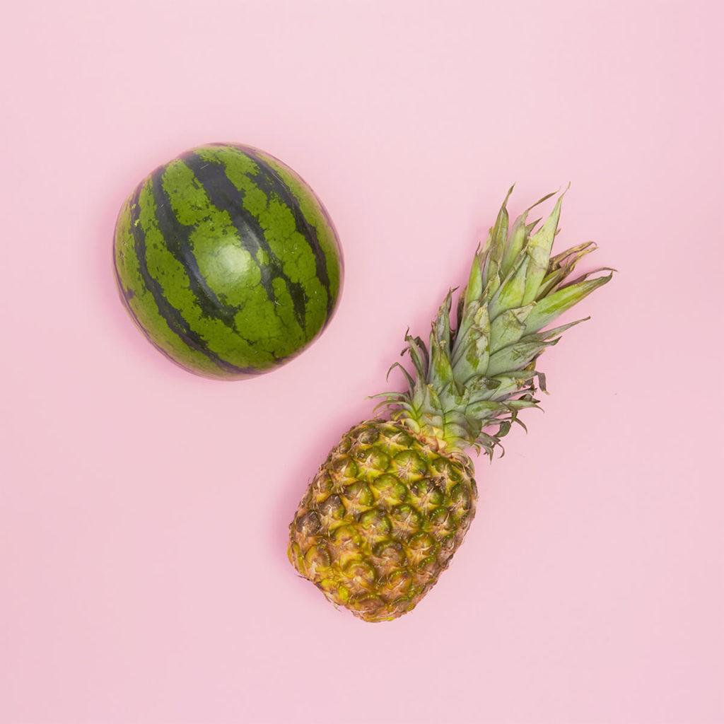 Ananas_und_Wassermelone