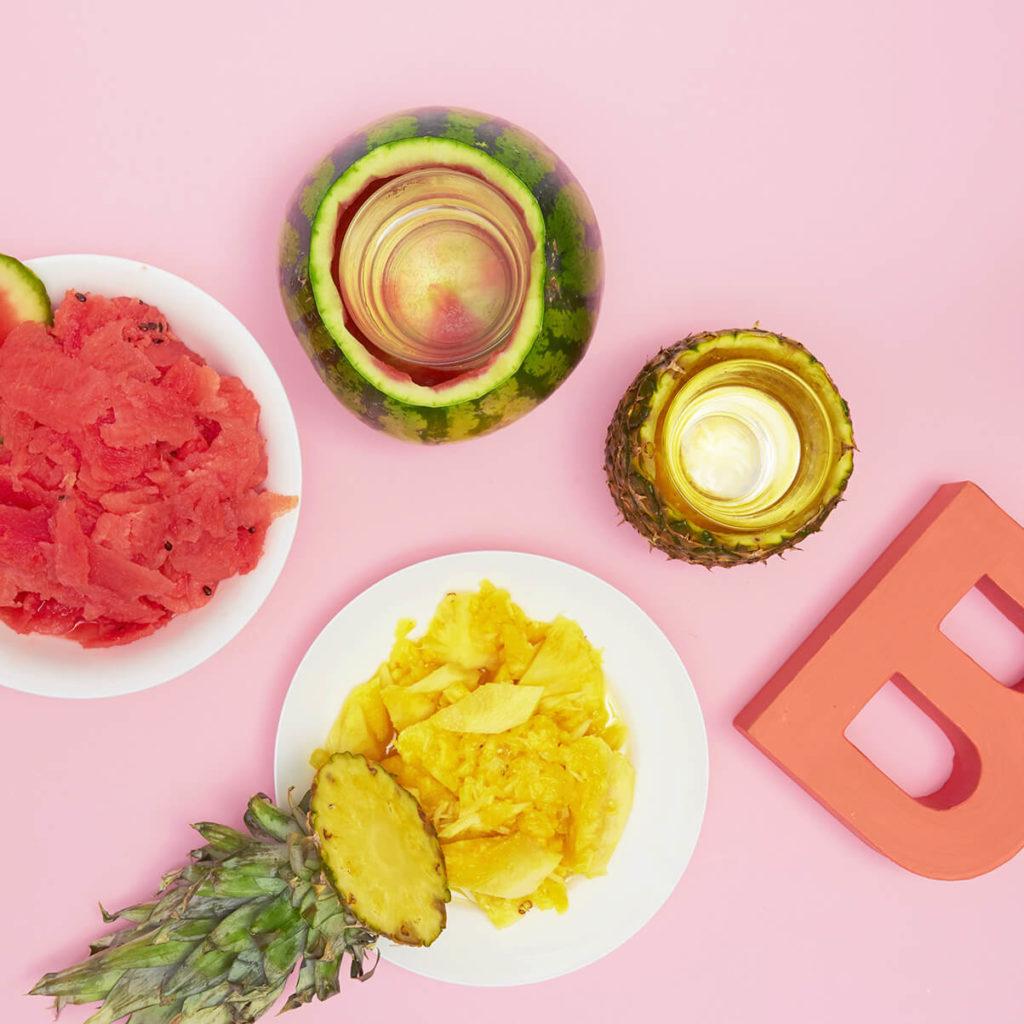 Ananas_und_Melone_zum_Essen