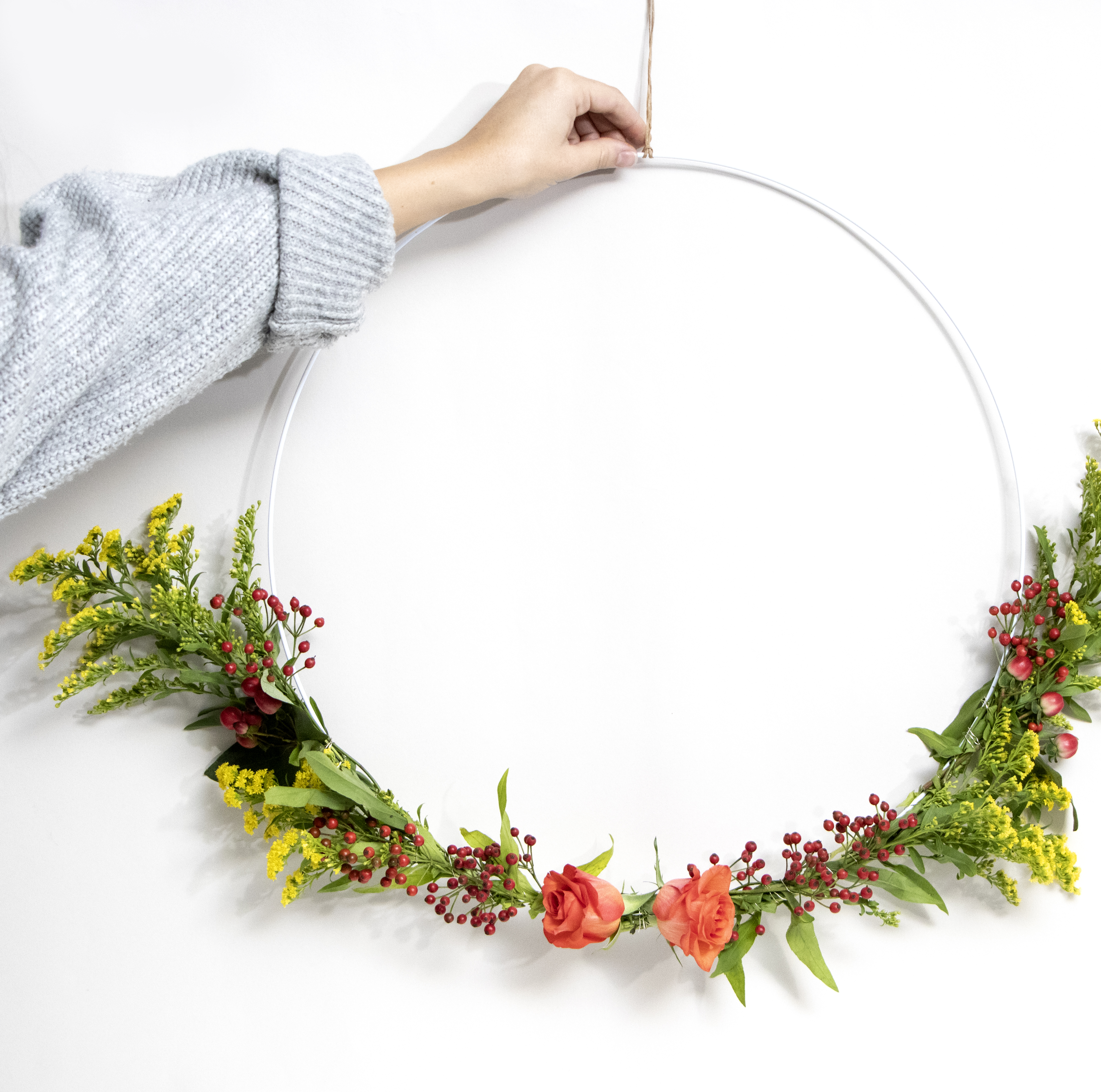 Blumenring_Dekoration
