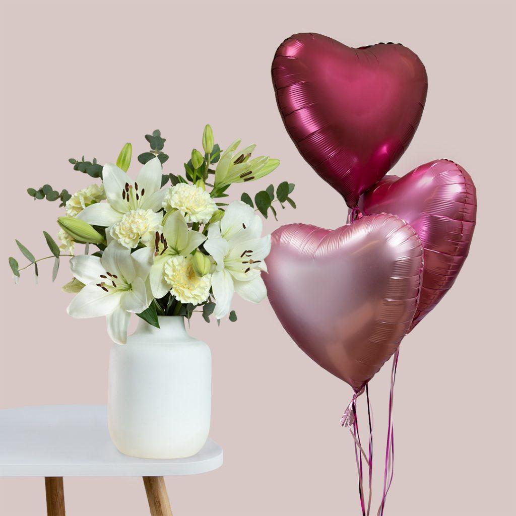 Blumen zum Valentinstag