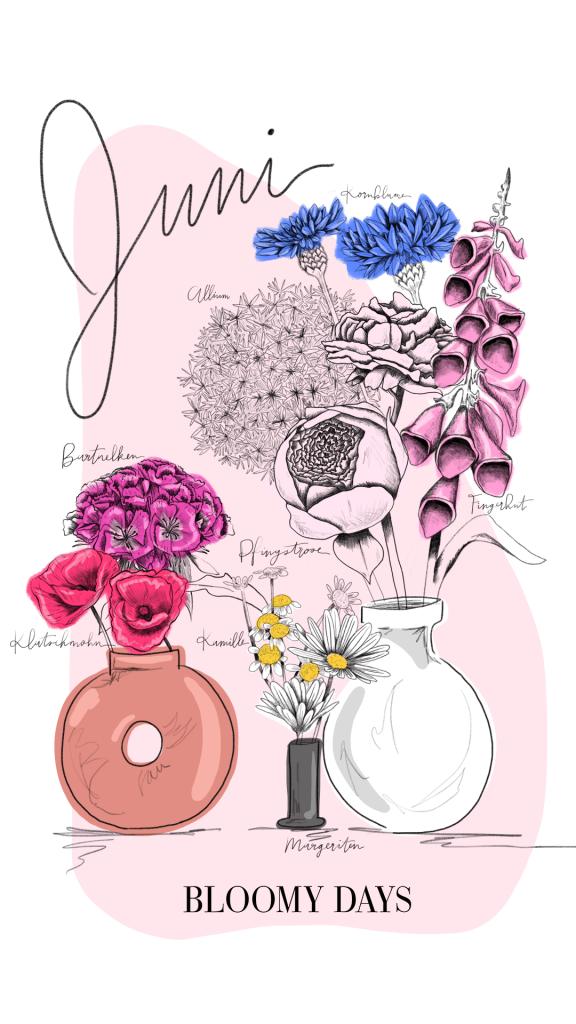 Blumen im Juni