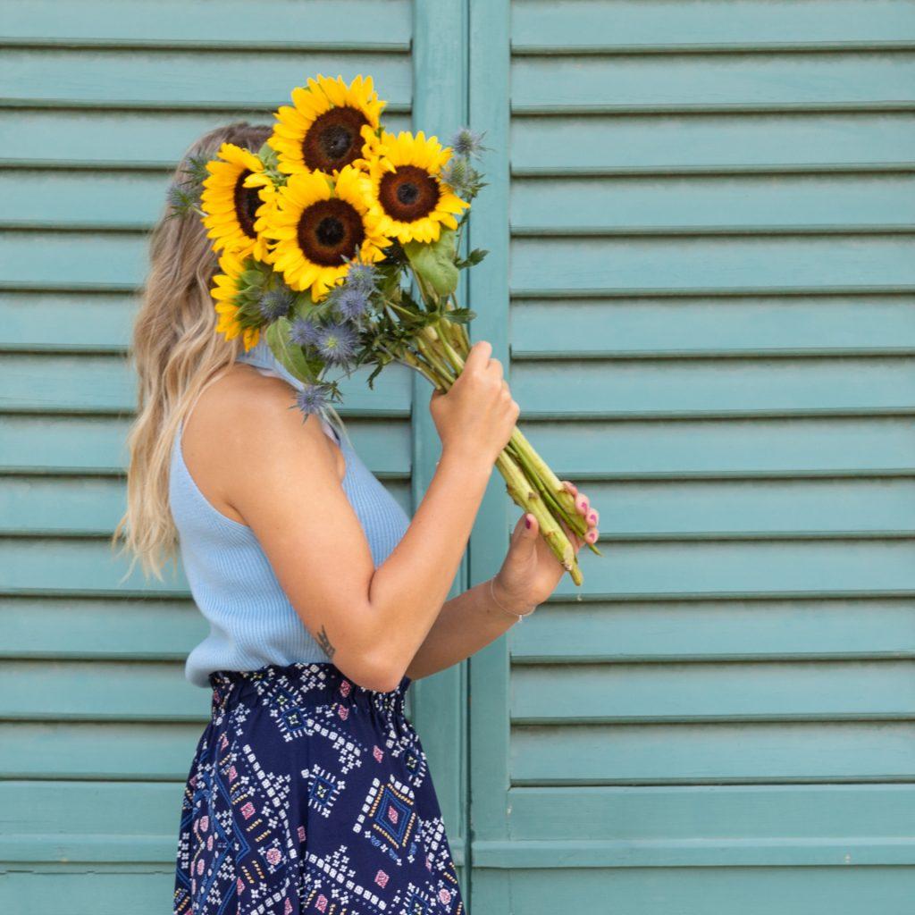 Pflegetipps Sonneblumen und Disteln