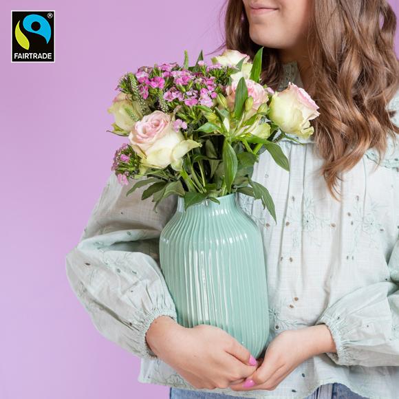 """Fairtrade-Blumen """"Zeit für Dich"""""""