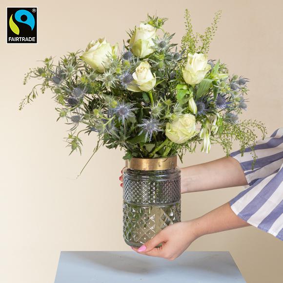 """Fairtrade-Blumen """"For You"""""""