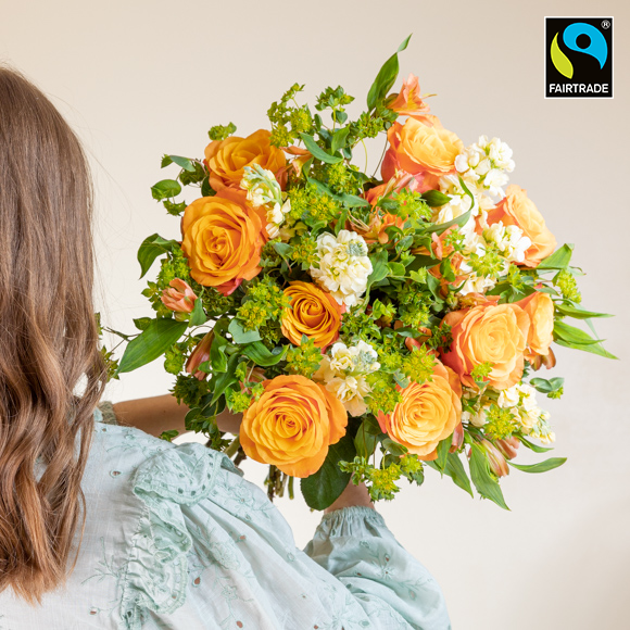 "Fairtrade-Blumen ""Große Freude L"""